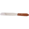 Spatula with 8\x22 Stainless Steel Blade and Wood Handle