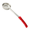 2 oz. Solid Stainless Steel Spoodle with Red Handle