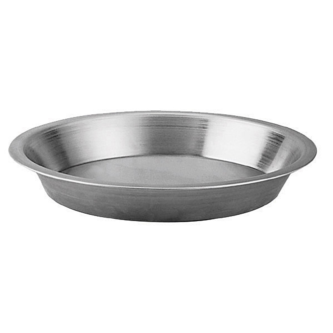 Round Aluminum Pie Pan with 1/2\  Flange 9\  x 1-1/4\   sc 1 st  Restaurant Equippers & 9 Inch Round Aluminum Pie Pan with 0.5 Inch Flange