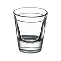 Libbey 1.5 oz. Shot Glass with 1 oz. Cap Line