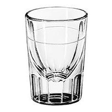 Libbey 2 oz. Fluted Shot Glass with 0.875 oz. Cap Line