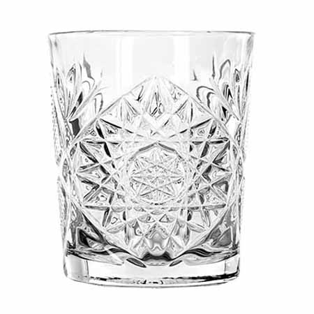Libbey Hobstar 12 oz Double Old Fashion Glass