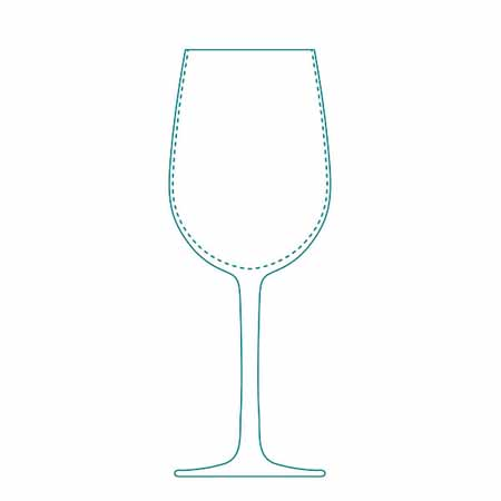 Libbey Master's Reserve Performa Contour 16 oz Wine Glass | Case of 12