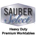 Sauber Select Commercial Work Tables