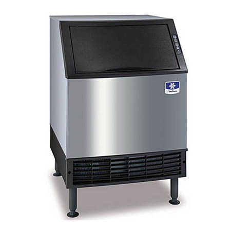 "Manitowoc 132 lb. Half Dice Neo Undercounter Ice Machine with 90 lb. Bin 26""W"