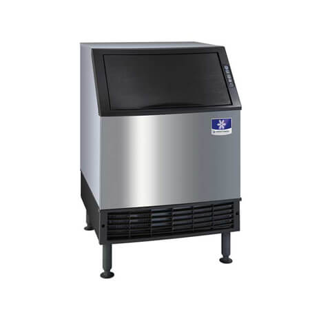 "Manitowoc NEO 219 lb. Undercounter Half Dice Air Cooled Ice Machine with 90 lb. Bin 26""W"