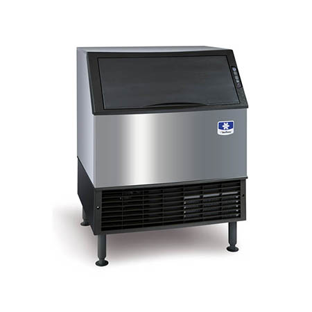 "Manitowoc 304 lb. Full Dice Neo Undercounter Ice Machine with 100 lb. Bin 30""W"