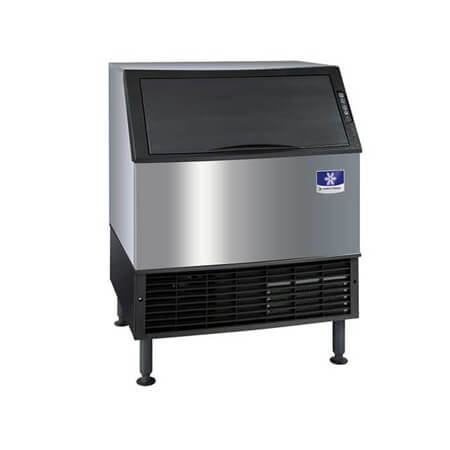 "Manitowoc NEO 290 lb. Undercounter Half Dice Air Cooled Ice Machine with 100 lb. Bin 30""W"