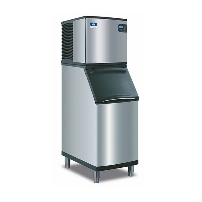 "Manitowoc 335 lb. Full Dice Indigo Ice Machine with 210 lb. Bin 22""W"