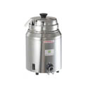 Server 3-Quart Stainless Steel Hot Fudge Warmer with Ladle