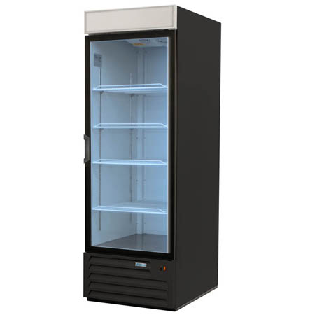 "Edesa 23 cu. ft. 1 Swinging Door Refrigerator Merchandiser 27""W"