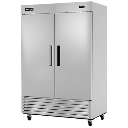 "Argus 49 cu. ft. 2-Door Bottom Mount Reach-In Refrigerator 54""W"