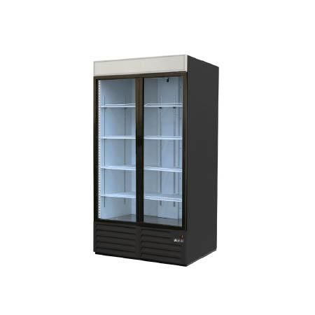 "Berg 49 cu. ft. 2 Swinging Door Refrigerator Merchandiser 54""W"