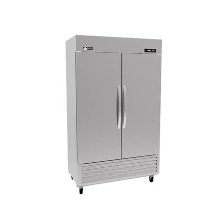 "Berg 49 cu. ft. 2-Door Bottom Mount Reach-In Freezer 55-1/2""W"