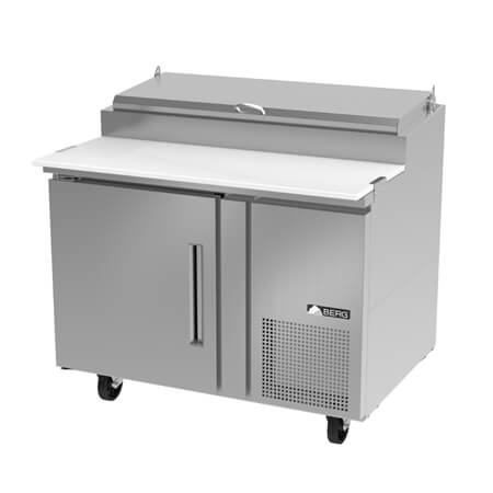"Berg 1-Door Pizza Prep Table 46""W"