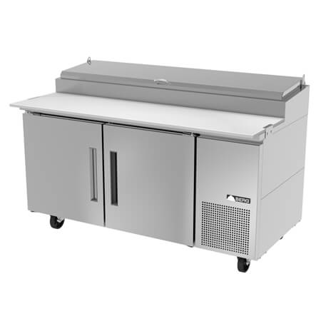 "Berg 2-Door Pizza Prep Table 67-1/2""W"
