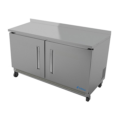 "Edesa 11.8 cu. ft. 2-Door Worktop Freezer 48""W"