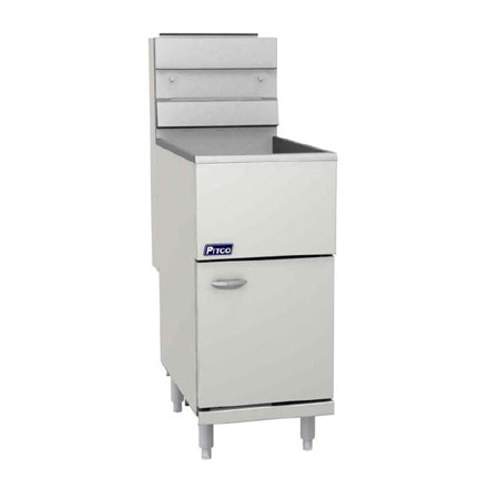Pitco 42-50 lb. Gas Floor Fryer 122,000 BTU