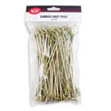 Tablecraft 3-1/2\x22 Knot Bamboo Picks 100-Count