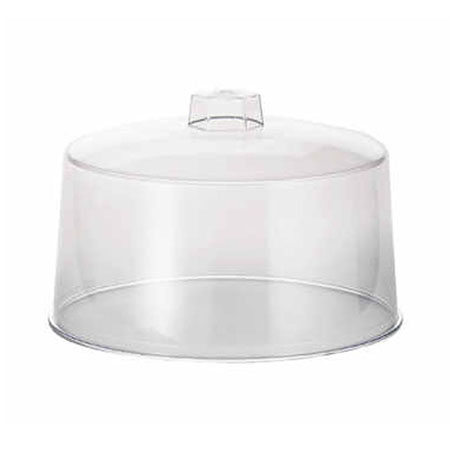 "Plastic Cover for 12-1/4"" Diameter Stainless Steel Cake Stand"