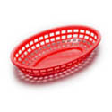 Tablecraft Jumbo Oval Plastic Food Baskets