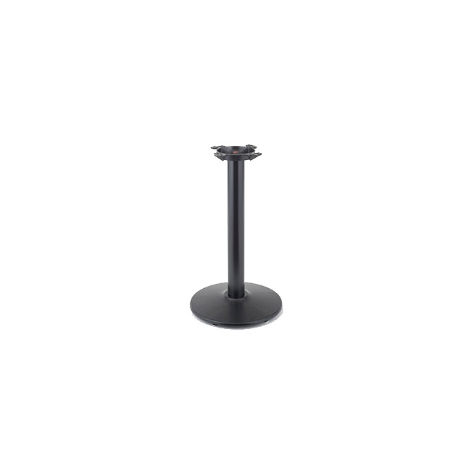 Inch Round Base Inch High Black Table Base - 30 inch table base