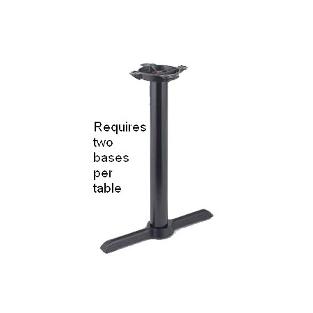 "22"" x 5-1/2"" Table Base for Long Tables 41""H"