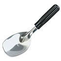 "Vollrath 9"" Ice Cream Spade with Black Polypropylene Handle"