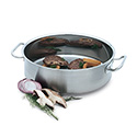 Vollrath 12-Quart Intrigue Induction Ready Stainless Steel Brazier