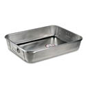Vollrath 29.5-Quart Wear-Ever Aluminum Roasting Pan Top with Straps 24\x22 x 18\x22 x 4-3/4\x22