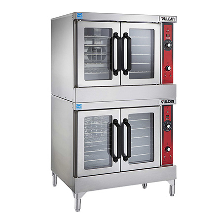 Vulcan Full Size Double Deck 208V Electric Convection Oven