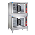 Vulcan Full Size Double Deck 208V Electric Convection Oven with Legs 40