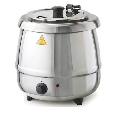 Tomlinson 10.5-Quart Stainless Steel Soup Kettle Warmer