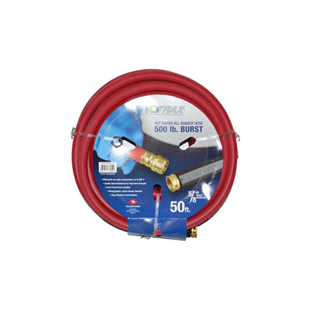 50' Hot Water Rubber Hose