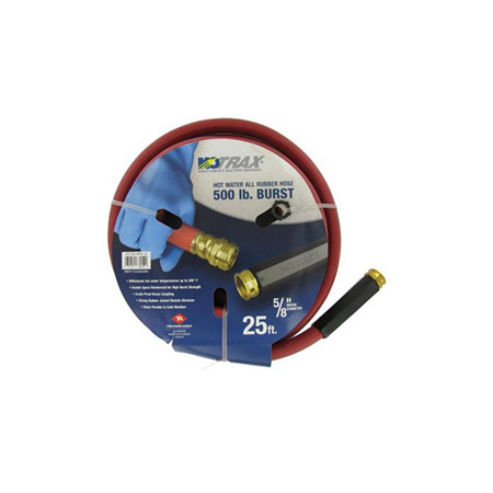 25' Hot Water Rubber Hose