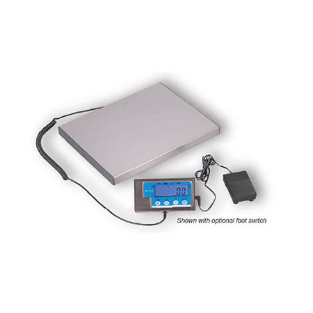 30 lb. x 0.1 oz. Digital Pizza Portion Control Scale with Remote Display