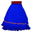 Large Red/Blue Microfiber Wet String Mop Head