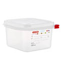 Araven 1.9-Quart Polypropylene Food Storage Container 6-7/8\x22 x 6-3/8\x22 x 4\x22