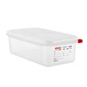 Araven 4.2-Quart Polypropylene Food Storage Container 12-3/4\x22 x 6-7/8\x22 x 4\x22