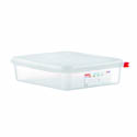Araven 4.2-Quart Polypropylene Food Storage Container 12-3/4\x22 x 10-1/2\x22 x 2-1/2\x22