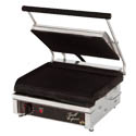 Star 14\x22 x 10\x22 Panini Ribbed Surface Sandwich Grill