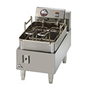 "Star 15 lb. Narrow Profile 208/240V Electric Countertop Fryer 12""W"