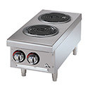 Star 208/240V 2-Burner Electric Hot Plate