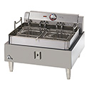 "Star 30 lb. 208/240V Single Pot Electric Countertop Fryer 24""W"