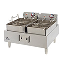 "Star 30 lb. 208/240V Electric Countertop Fryer 24""W"