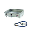 Star 84,900 BTU Manual Control Gas Griddle 36