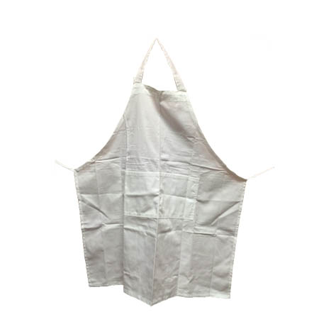 Full Length White Bib Apron 3-Pack