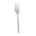 Medium Weight Plastic Forks 1,000-Count