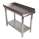 Sauber Stainless Steel Equipment Stand with 2\x22 Risers 15\x22W x 30\x22D x 24\x22H