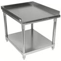 Sauber Stainless Steel Equipment Stand with 2\x22 Risers 48\x22W x 30\x22D x 24\x22H